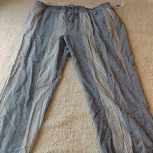 Old Navy Linen Blend Pants